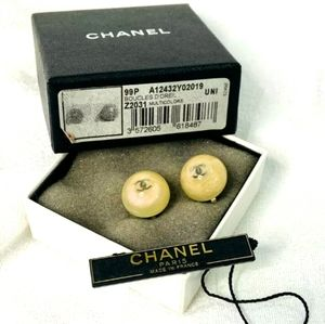 Chanel Boucles D'Orielles Multicolor Clip Earrings